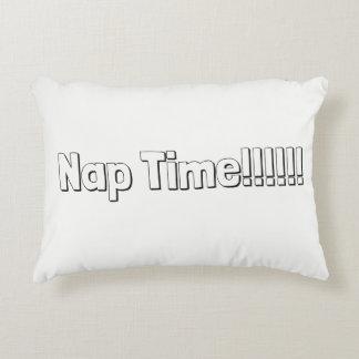 """""""Nap Time"""" Throw Pillow"""