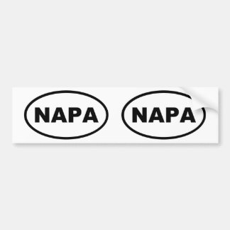 NAPA BUMPER STICKER