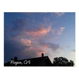 Napa, CA postcard