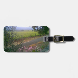 Napa Silverado Trail Luggage Tag