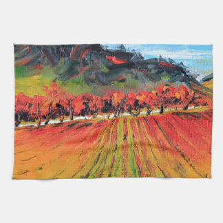Napa Valley by Lisa Elley Kitchen Towel