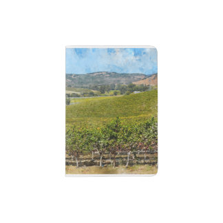 Napa Valley California Passport Holder