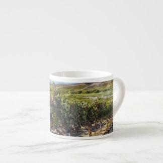 Napa Valley California Vineyard Espresso Cup