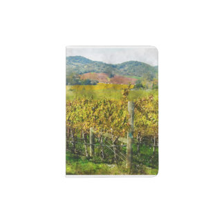 Napa Valley California Vineyard Passport Holder