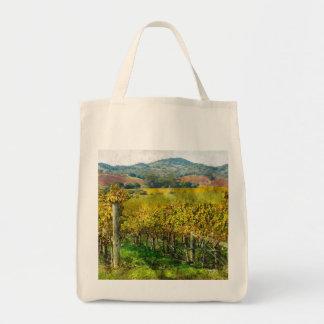 Napa Valley California Vineyard Tote Bag