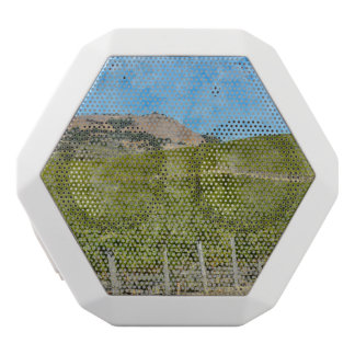 Napa Valley California Vineyard White Bluetooth Speaker