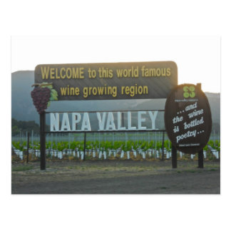 Napa Valley California Wine Country Post Cards