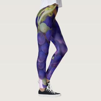 Napa valley grape leggings