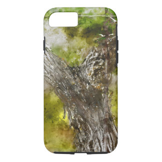 Napa Valley Grape Vine closeup in Spring iPhone 7 Case