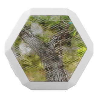 Napa Valley Grape Vine closeup in Spring White Bluetooth Speaker