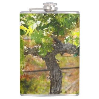 Napa Valley Vineyard Flask