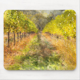 Napa Valley Vineyard in Fall Mouse Pad