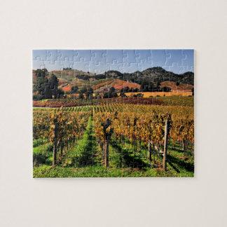 Napa Valley Vineyard Jigsaw Puzzle