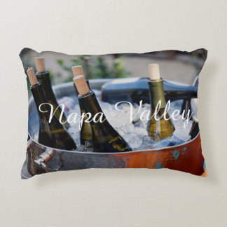 Napa Valley Wine Lovers Accent Pillow