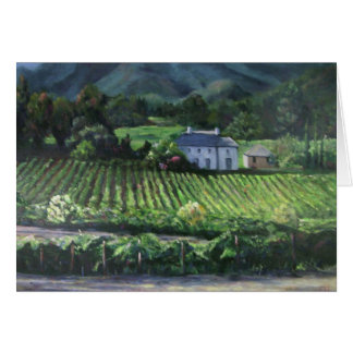 Napa Vineyard Card