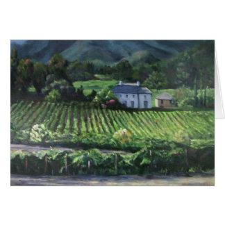Napa Vineyard Card