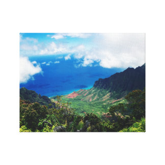 Napali Coast Park: Kauai, Hawaii Canvas Print