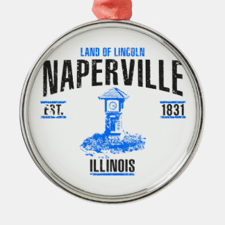 Naperville Metal Ornament