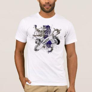 Napier Tartan Lion T-Shirt