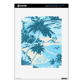 Napili Bay Hawaiian iPad 3 or Tablet Skin Decal For iPad 3