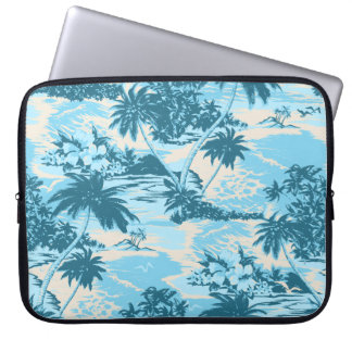 Napili Bay Hawaiian Neoprene Wetsuit Laptop Sleeve