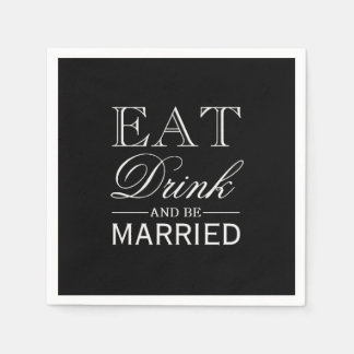 Napkin | Eat Drink & Be Paper Napkin