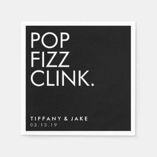 Napkin - Pop Fizz Clink Disposable Napkin