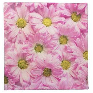Napkins - Cloth - Pink Gerbera Daisies