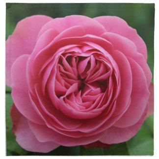 Napkins (set of 4) Macro Rose