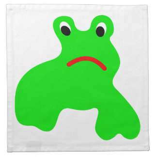 Napkins with frog