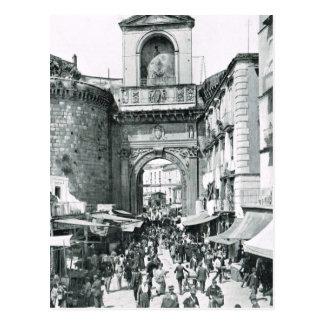 Naples, 1908, Porta Capuano Postcard
