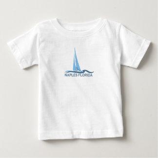 Naples Beach - Sailing Design. Baby T-Shirt