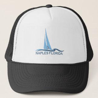 Naples Beach - Sailing Design. Trucker Hat