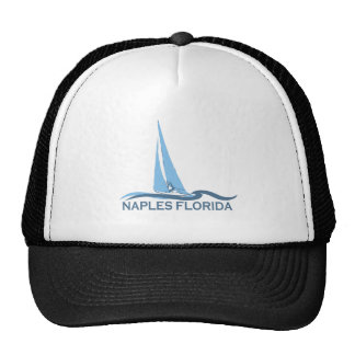Naples Beach - Sailing Design. Trucker Hat