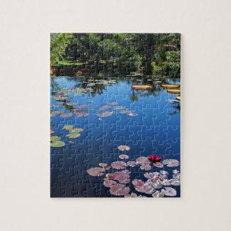 Naples Botanical Garden Water Lilies Jigsaw Puzzle