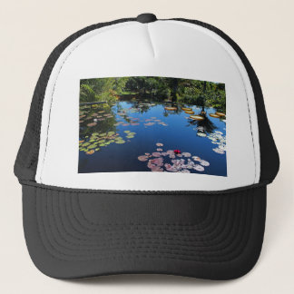 Naples Botanical Garden Water Lilies Trucker Hat