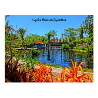 Naples Florida Botanical Garden - Mosaic Wall Postcard