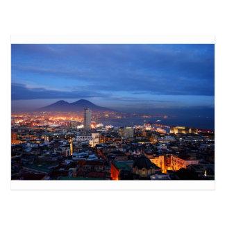 Naples Italy Postcard