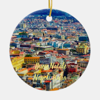 Naples, Italy Scenic Christmas Ornament