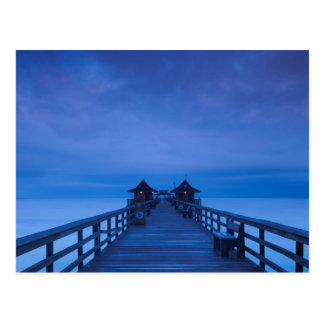 Naples Pier, dawn Postcard