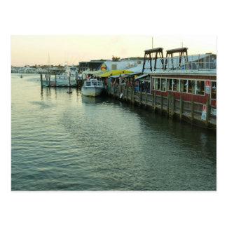 Naples Tin City Postcard