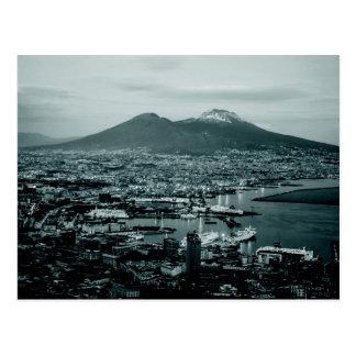 Naples Vesuvius Postcard