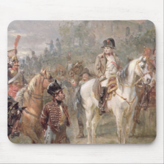 Napoleon and his Troops (oil on panel) (pair of 12 Mouse Pad