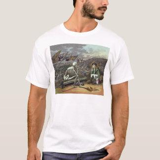 Napoleon and skeleton, 18th T-Shirt