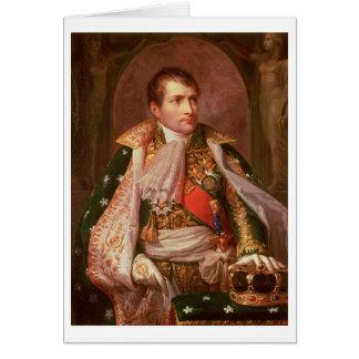 Napoleon Bonaparte (1769-1821), as King of Italy, Card