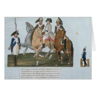 Napoleon Bonaparte  and the Varsovian Sentry Card
