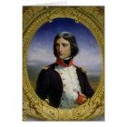 Napoleon Bonaparte  as Lieutenant Colonel Card
