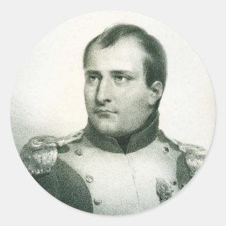 Napoleon Bonaparte Classic Round Sticker