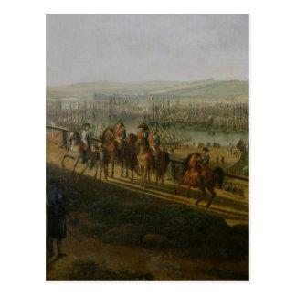 Napoleon Bonaparte  Visiting the Camp at Postcard
