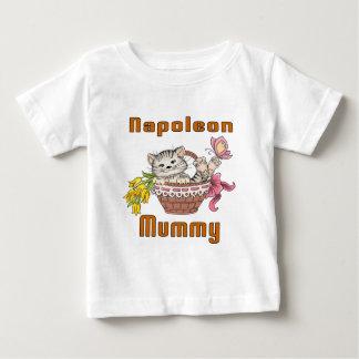 Napoleon Cat Mom Baby T-Shirt